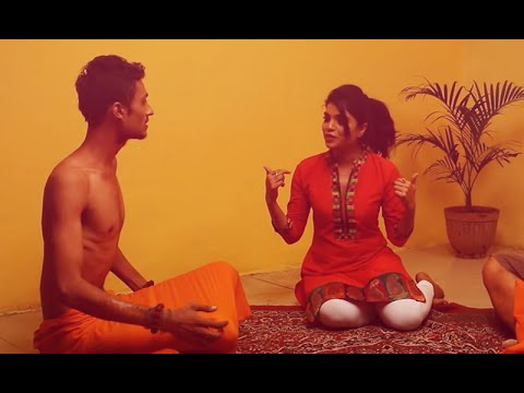 Sadhu Baba Taking Advantage Of A Lady Chochi Baba video