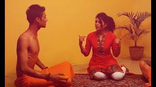 Sadhu Baba Taking Advantage of a Lady Chochi Baba (Sant)