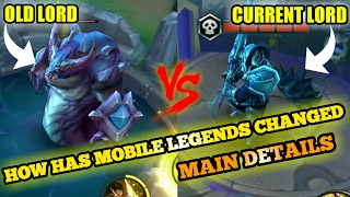 HOW HAS MOBILE LEGENDS CHANGED SINCE THE FIRST DAY (MAIN DETAILS)