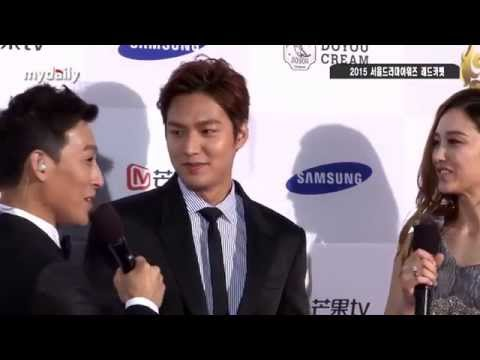[20150910] Lee Minho (이민호/ 李敏镐) Seoul International Drama Awards : Red Capet