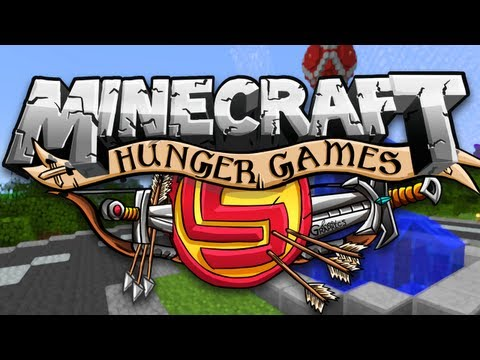 Minecraft: Hunger Games Survival w/ CaptainSparklez - Roller Coaster