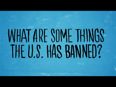 11 U.S. Products Banned In Other Countries