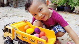 Trò Chơi Săn Trứng Màu ❤ ChiChi ToysReview TV ❤ Đồ Chơi Trẻ Em Baby Doli