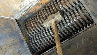 Hammer vs Shredding Machines - Extreme Powerful Heavy Equipment Machine Destroy Everything Working