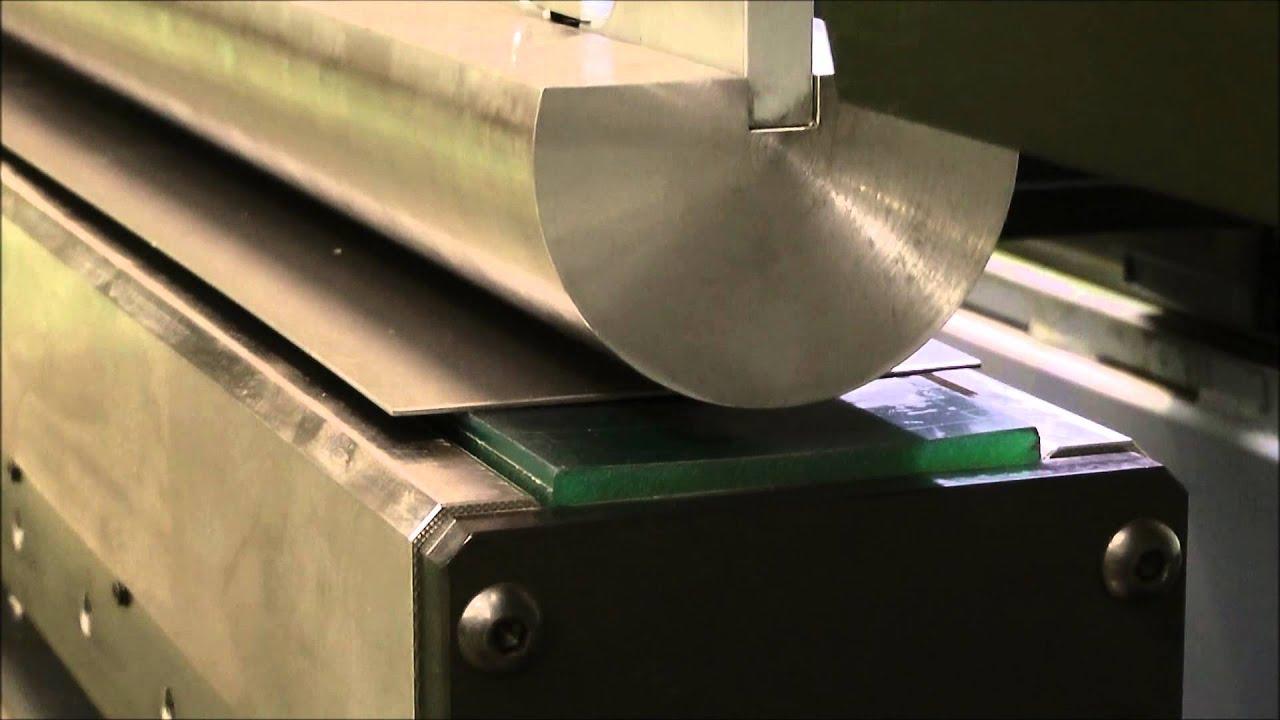 Радиусная гибка листового металла своими руками