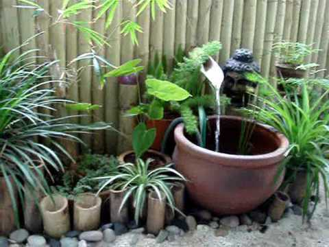My sunny balcony the zen garden youtube for Balcony zen garden ideas