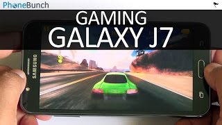 Samsung Galaxy J7 Gaming Review with High-end Games