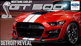 2020 Ford Mustang Shelby GT500 (Upclose Look & Details Revealed)