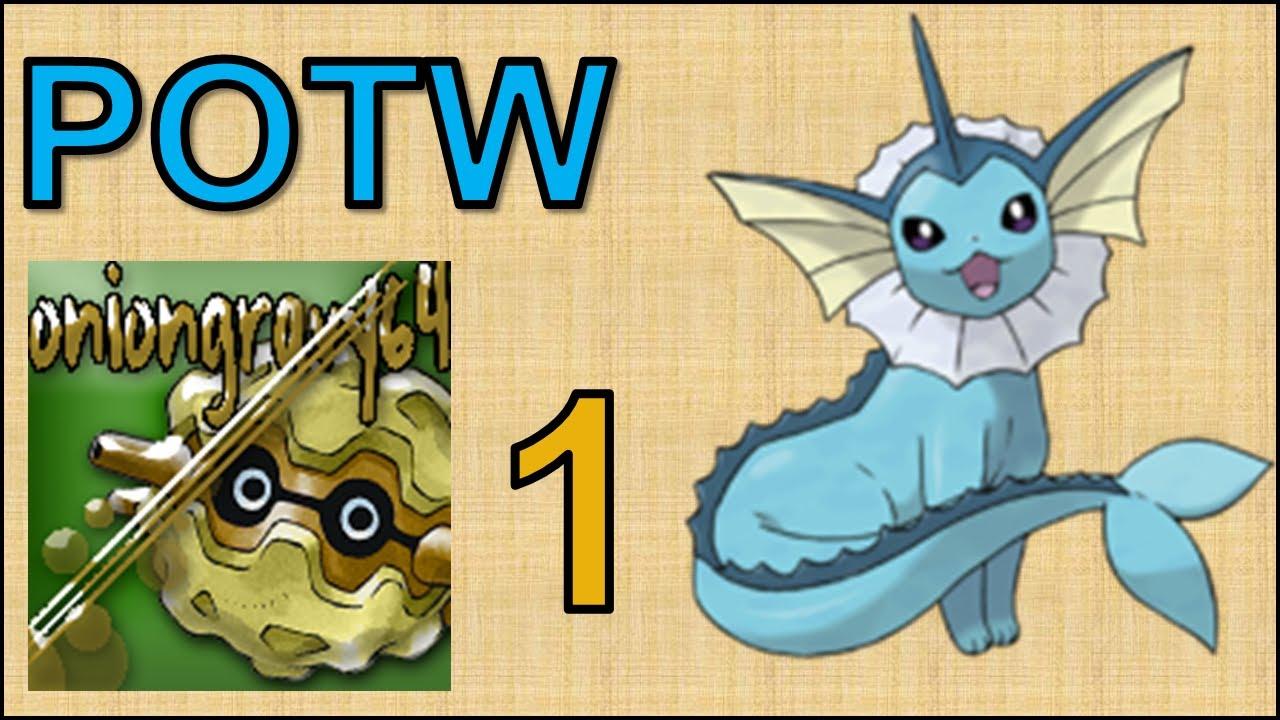 Pokemon x And y Vaporeon Vaporeon Pokemon of The Week