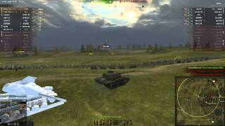 World of tanks T110E5 мастер