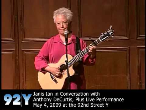 0 Janis Ian, Societys Child, at the 92nd Street Y