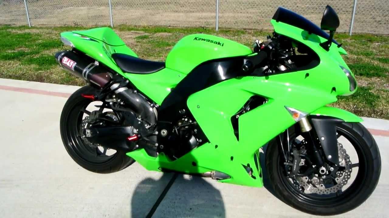 Lime Green Kawasaki Ninja R
