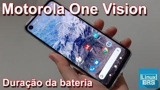 🔘 Motorola One Vision - Duração da bateria