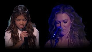 Angelica Hale And Rachel Platten 34 Fight Song 34 Original Vs Version Mel B Said Whaaaa