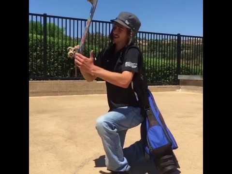 When golf meets skateboarding 😂 @merrickellman & @cdougz 📹: @dah_fishh | Shralpin Skateboarding