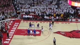Arkansas Razorbacks vs. Kentucky Wildcats - Basketball January 2014