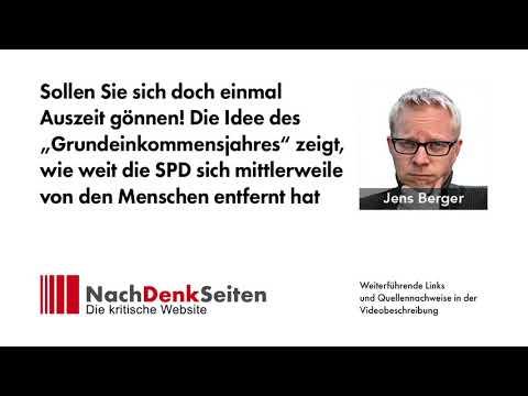 """Die Idee des """"Grundeinkommensjahres"""" zeigt, wie weit die SPD sich von den Menschen entfernt hat"""