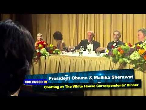 Bollywood Star Mallika Sherawat Chats With President Barack Obama