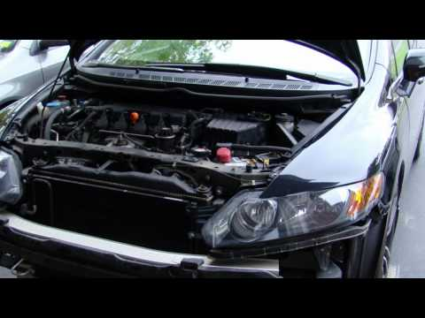 06 Honda Civic LX  R18  Cold Air Intake Sound. & Installation Pics (sold)