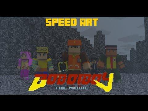Minecraft Boboiboy speed art