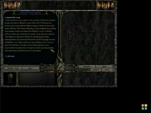 Diablo II Dupe Hook 5.9  31 / 03 - 2010  Diablo 1.12 & 1.13 - Only private now