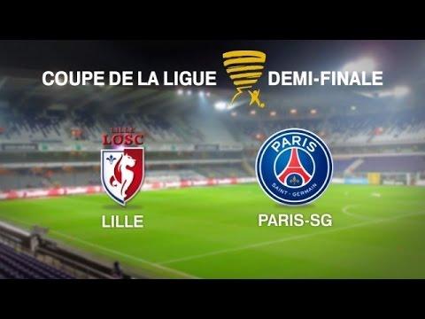 Lille OSC - Paris Saint-Germain [FIFA 15] | Coupe de la Ligue 2014-2015 (Demi-Finale) | CPU Vs. CPU