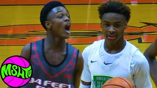 Bronny Blue Chips CLASH with FLASHY GUARD - BUZZER BEATER NEEDED TO ADVANCE