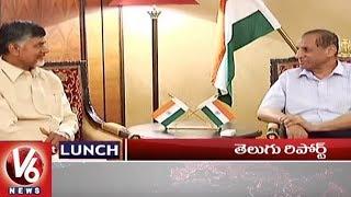 1 PM Headlines | Governor Delhi Tour | Pawan Kalyan Tweets | IT Raids In Karnataka