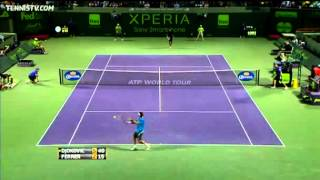 Djokovic vs Ferrer - Miami 2012 - Highlights