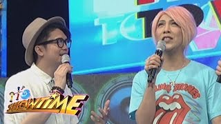 It's Showtime: Vice says something to Vhong