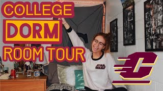 COLLEGE DORM ROOM TOUR! | Central Michigan University