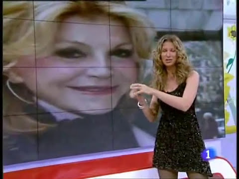 Anne Igartiburu vestida de Jorge Terra en Corazón - TVE 29/3/10