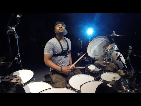 GoPro Music: Getting the Shot with Tony Royster Jr. - Mouthcam Drum Solo