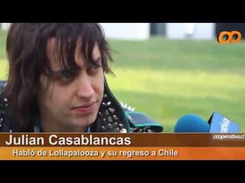 Interview Julian Casablancas at Lollapalooza (Subtitulada)