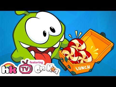 Om Nom Stories | Cartoons for Children | Strange Delivery & More | Cut The Rope | HooplaKidz TV