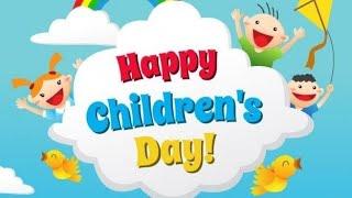 Bulletin board decoration ideas for children's day in school || Children's day school display board