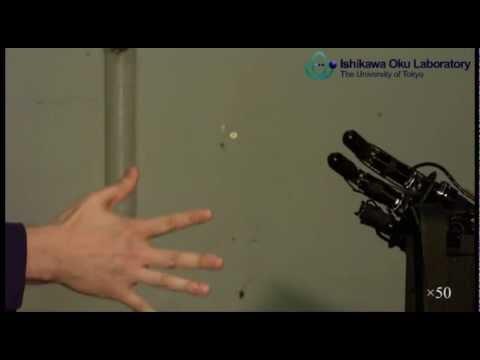 Rock-paper-scissors Janken Robot 100% wins, Japan, 2012