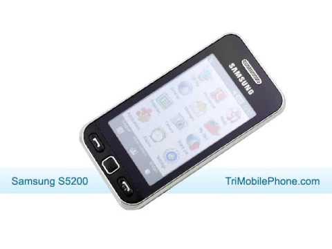 Samsung gt S5200 Samsung S5200 Mobile Phone