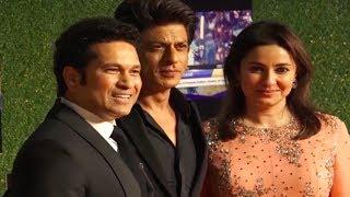 Shahrukh Khan attends Sachin's film Premiere