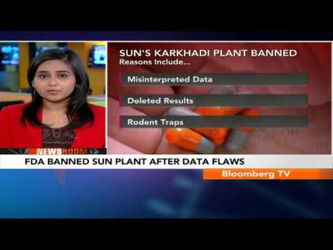 Newsroom- FDA Banned Sun Plant After Data Flaws