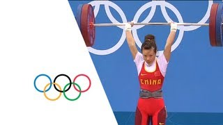 Weightlifting Women's 48kg Final- China Gold -  London 2012 Olympic Games Highlights