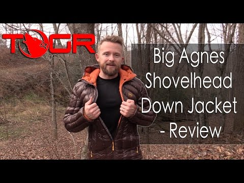 Big Agnes Shovelhead Down Jacket - Review