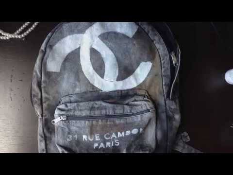 Chanel 2014 Inspired Backpack DIY   5feet 6inches