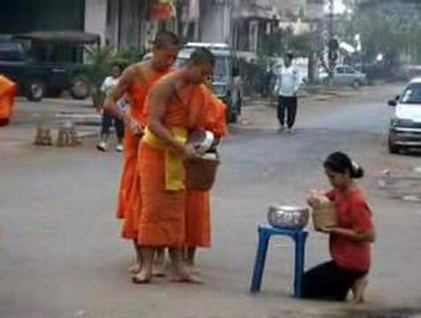 Daily Giving and Daily Receiving: Alms Round in Laos