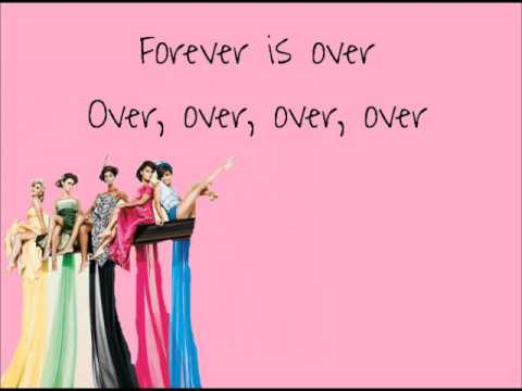 Forever Is Over - The Saturdays Lyrics. video