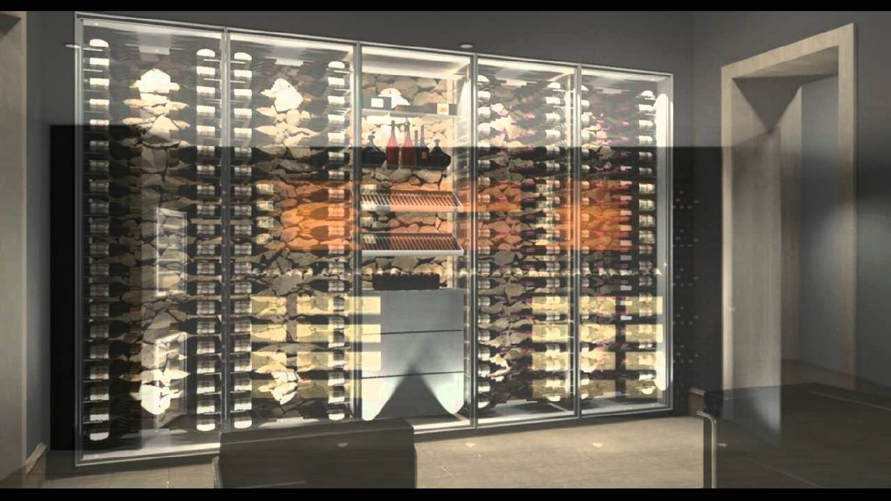caves vins design sur mesure projets 3d 2011 2012 youtube. Black Bedroom Furniture Sets. Home Design Ideas
