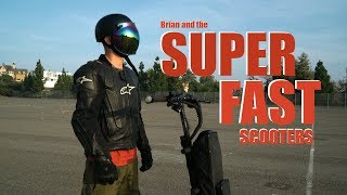 Bryan and the Super Fast Scooters
