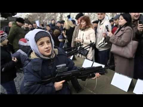 BBC News-Ukraine crisis: Russia defies fresh Western sanctions