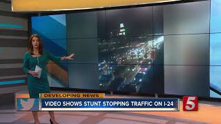 Viral video shows cars doing donuts on I-24 in Antioch  from NewsChannel 5