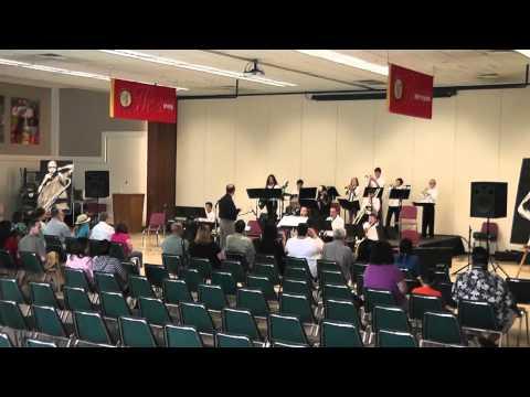"JHS Middle School Jazz Festival 2014: Sacramento Country Day School ""Abracadabra"""